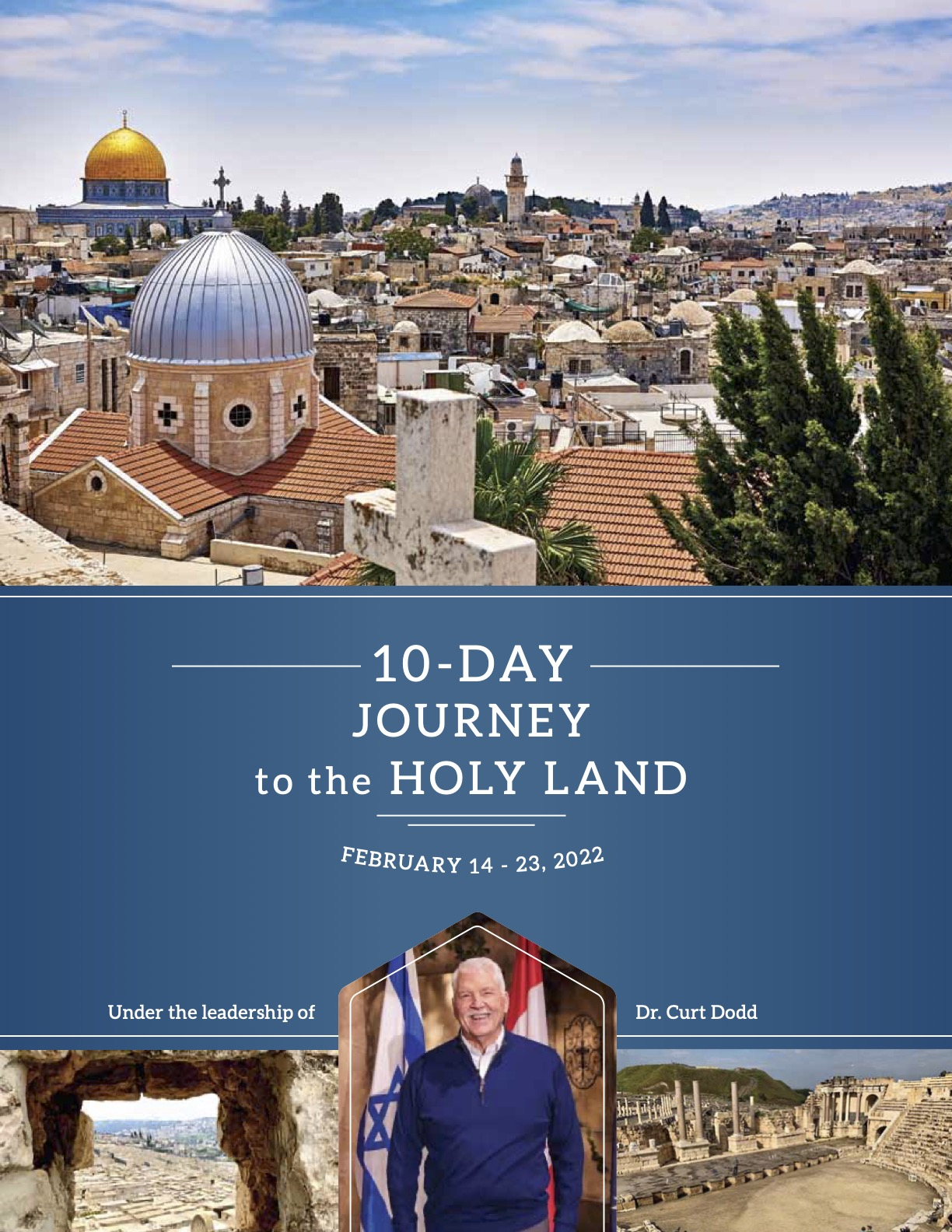 Dr. Curt Dodd brochure COVER (Holy Land 2022)